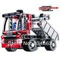 Decool 3345 modelo carro caminhão de transporte de 230 Building Block define DIY educacional tijolos brinquedos