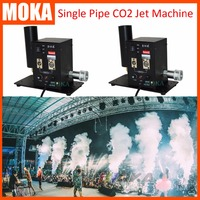 2pcs/lot Top Quality Stage Effects CO2 Jet Mini CO2 Cannon Machine DMX Control Cryo Fog Blaster