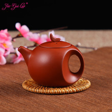 JIA-GUI LUO  Purple Clay  yixing teapot  traditional chinese tea set   tea set siteel oolong tea Portable travel tea set H014 цена