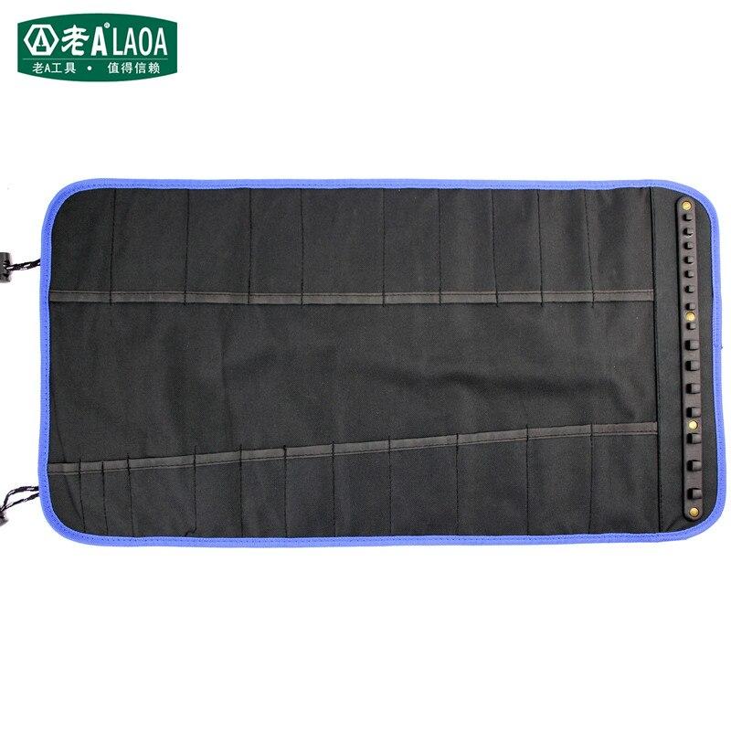 LAOA Borse portautensili multifunzionali a spirale Portautensili portatile Tessuto 600D Allunga Pacchetto di utensili Solido Durevole