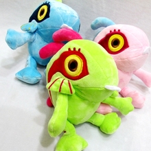 3Pcs/Set 3colors 18cm Murloc Plush Dolls Lovely Fish Stuffed Toy Animal Soft Figures for Baby Gift