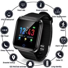 цены Sport Watch Depth IP68 Waterproof Smart Watch Blood Pressure Heart Rate Monitor Calorie Pedometer Information Reminder