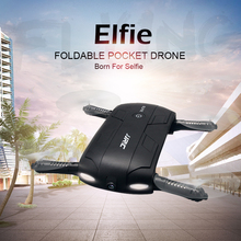 JJRC H37 Elfie Bolsillo Gyro WIFI FPV Quadcopter RC Drone Autofoto Dron Plegable Sin Cabeza Mini Drones con HD Cámara VS JJRC H36 H31