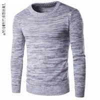Nova Moda Outono Inverno Marca Homens Sweaters Pullovers Tricô Grosso Quente Designer Casual Slim Fit Malha Malhas Homem