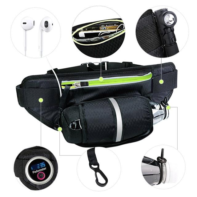 Fitness Sport Accessories Trail Running Bag Mobile Belt Marathon Women Mens Sports Wallet Bags Waist Bottle Bag 2
