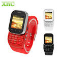 "KEN XIN DA W1 Smart Wrist Watch Phone 1.44"" QCIF Touch Screen 32MB RAM+32MB ROM 0.08MP GSM SC6531 Dual Card Slide-out Keyboard"