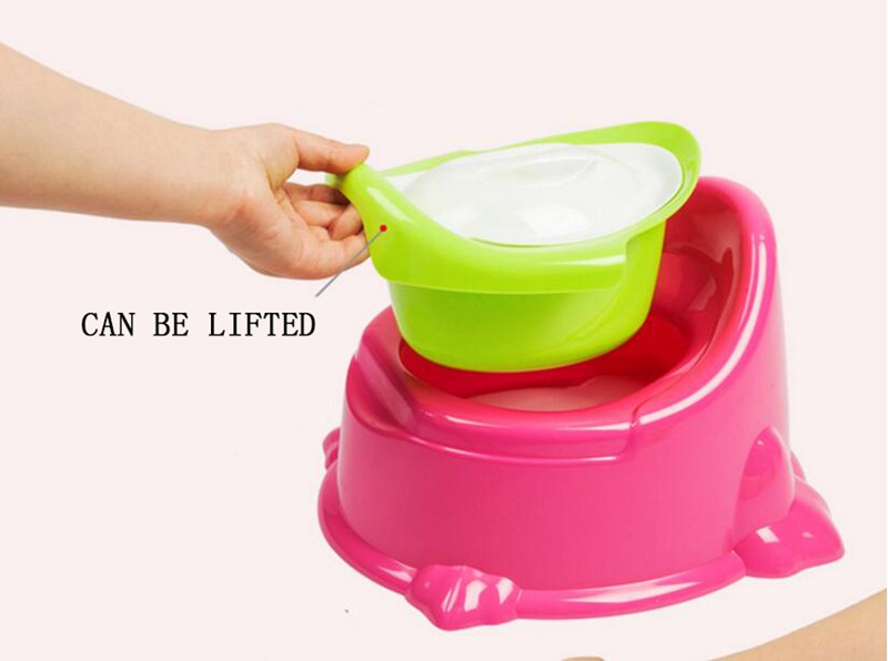3125cm Cute Baby Potty For Travel Kids Boy Urinal Plastic Portable Child Toilet Seat Trainer Camping Toilet Training  (5)