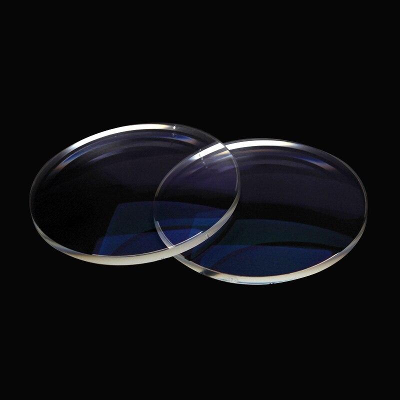 SO & EI 1.56 nouveaux accessoires lentilles pour les yeux ordinateur asphérique dur résine lentille myopie lentilles Prescription hommes