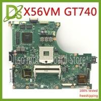 KEFU N56VM For ASUS N56V N56VM N56VV N56VZ GT740 4G video memory original support I3 I5 I7 Test work 100% original in stock
