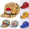 Pikachu Pokemon Todo Parche Tapa Sombrero Nueva Licencia