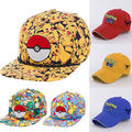 Pokemon All Over Pikachu Patch Cap Hat New Licensed