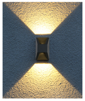 LED Wall Lights Waterproof IP65 Outdoor Aluminium Porch Garden Wall Lamp Indoor Wall Sconce Home Lighting LED Wandlamp Luminaria