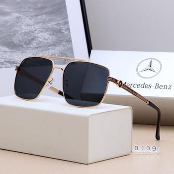 5162755be44c5 Polícia 2019 UV400 Retro Quadrados Óculos De Sol Da Marca Polaroid Lente  Dos Homens Polarizados Condução Óculos De Sol De Alta Qualidade Moldura de  Metal