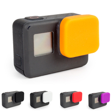 Protective Lens Cover Soft Silicone Dustproof Scratchproof Cap for GoPro Hero5/6 Anti Dust