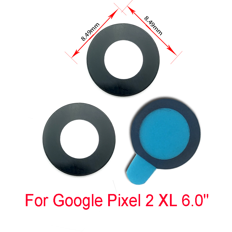 2019 Latest Design 50 Pcs/lotnew Back Rear Camera Glass Lens Parts For Google Pixel 2 Xl 5.0 6.0 With Adhesive Replacement Durable Service Other Jewelry & Watches