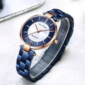 Image 4 - MINI FOCUS zegarki damskie zegarek kwarcowy Lady Dress zegarki damskie marki Luxury Fashion zegarki damskie Relogio Feminino