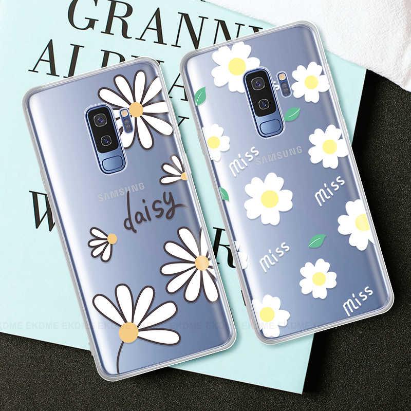 Gato dos desenhos animados folhas caso para samsung galaxy a30 a40 a40s a50 silicone macio sacos de telefone capa para galaxy a10 a20 a20e a60 a70