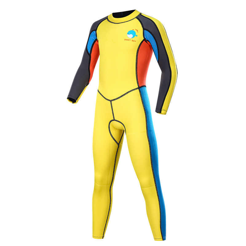 f8a90891d7e Wetsuits Kids 2mm Neoprene Full Suit, Surfing Swimming Wetsuit Baby/Youth  Boys/Girls