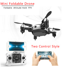 Радиоуправляемый квадрокоптер Wi-Fi FPV 0.3MP Камера светодиодный 3D флип 4CH мини Drone БНФ для внутреннего открытый игрушка KY901 VS CX-10W FSWB