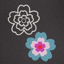 New Flower Circle Metal Cutting Dies Set for Scrapbooking Die Cut Paper Card Diy Cutter