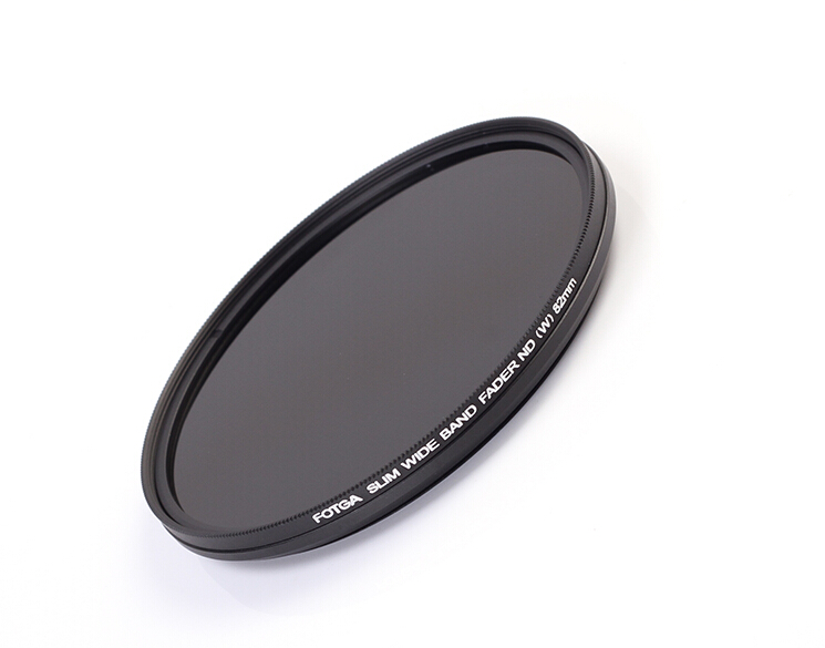 FOTGA 43/46/49/52/55/58/62/67/72/77/82 mm Slim Fader ND Filter Lens Protector Variable Neutral Density ND2 to ND400