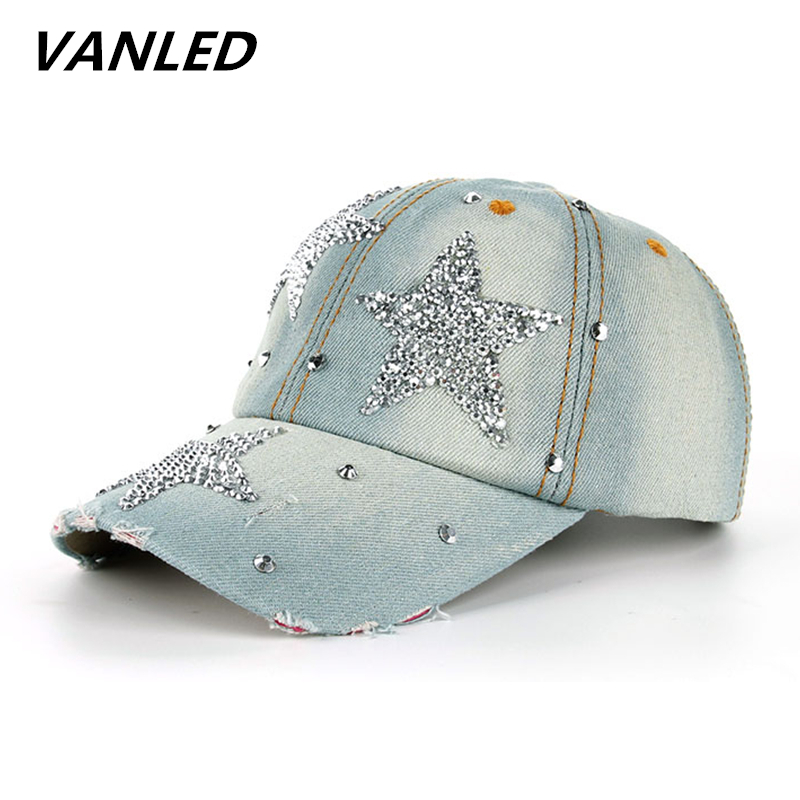 womens baseball hats with bling caps women font cap fashion rhinestone