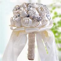 Gelin Buketleri İpek Çiçek Düğün Buket Güller Dahlias Yapay Çiçekler Nedime El Buketleri Düğün Çiçek Dekorasyon