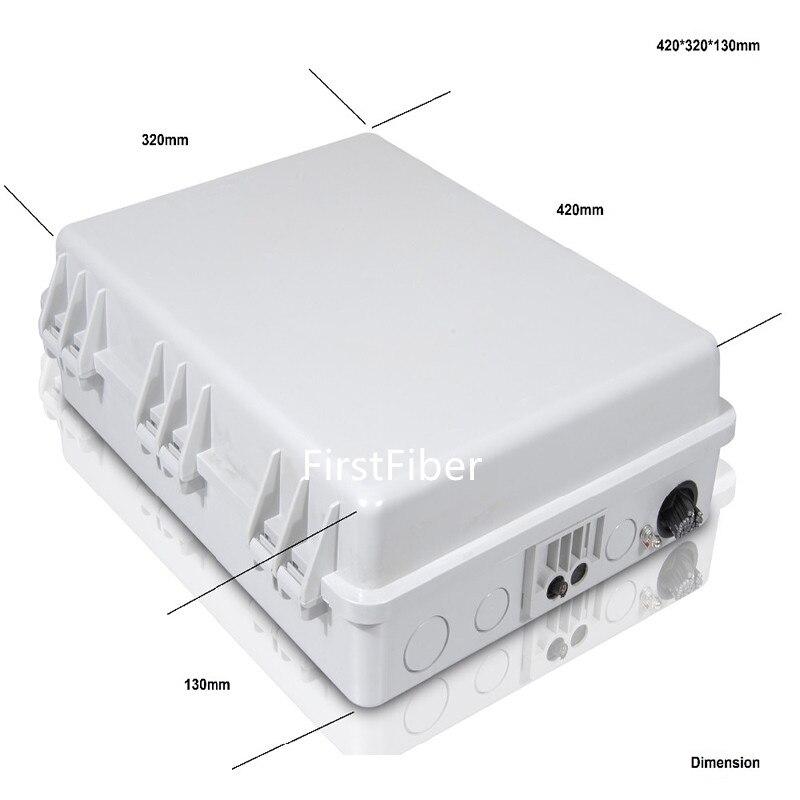 FTTH 36 noyaux fiber optique boîte à bornes FTB ports canaux fiber prise fiber optique boîte de Distribution boîte de Distribution
