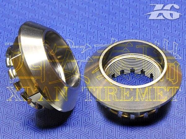 Ti Titanium  axle nut,Ti Titanium Motorcycle Parts