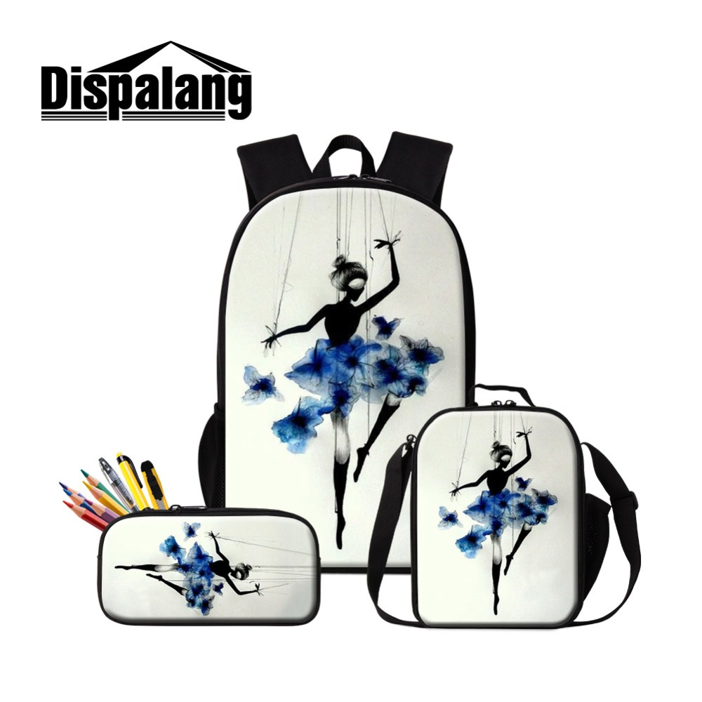Luggage & Bags Men's Bags Dispalang Design Violin Ballet Student Laptop Backpack Large Capacity Women School Backpacks Children Schoolbags For Teenagers Latest Technology