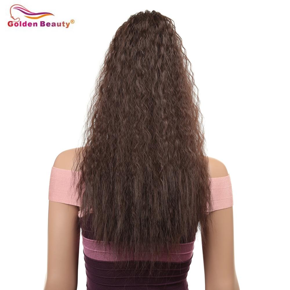 do drawstrwing nas extensões do cabelo