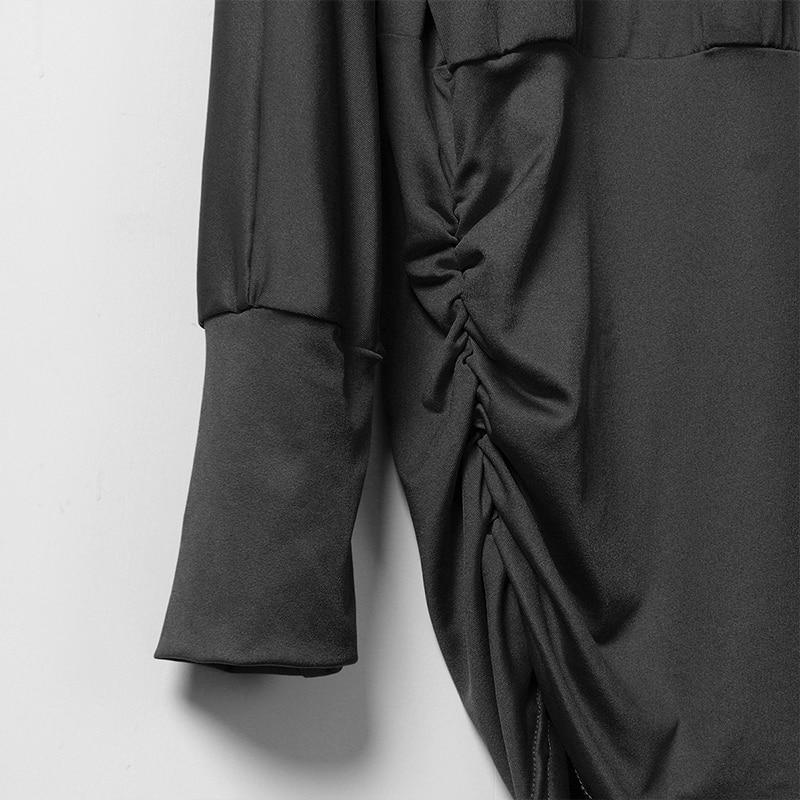 Žene Čipka šivanje šifon bluze labav tip Slash vrat majice - Ženska odjeća - Foto 6