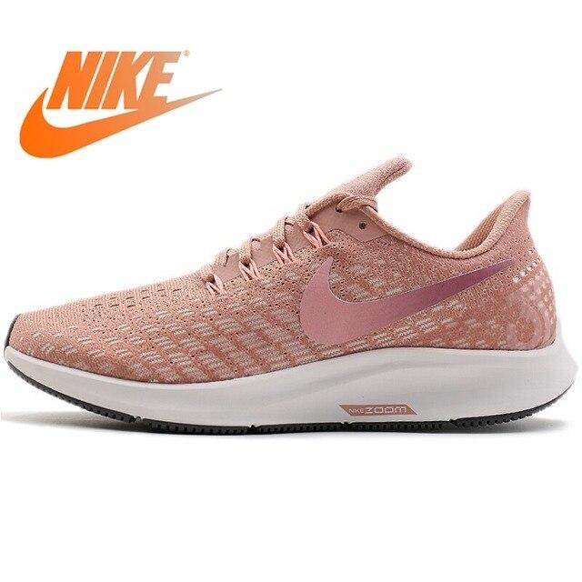 b8e6c217d46 Original 2018 NIKE Air Zoom Pegasus 35 Women s Running Shoes Sneakers Lace- up Wear Resistant Comfortable Walking Sports Shoes
