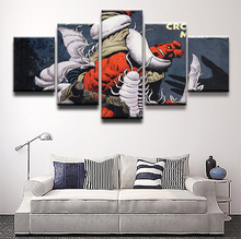 Canvas Pictures Home Decorative Wall Art Framework Decor 5 Pieces Paintings HD Prints Comics Hellboy The Crooked Man Posters