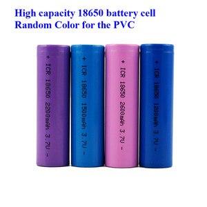 Оптовая цена 18650 Батарея 3, 7 V литий-ионная аккумуляторная батарея 1200mah 1500mah 1800mah 2000mah 2200mah 2600mah очень дешево (1 шт)