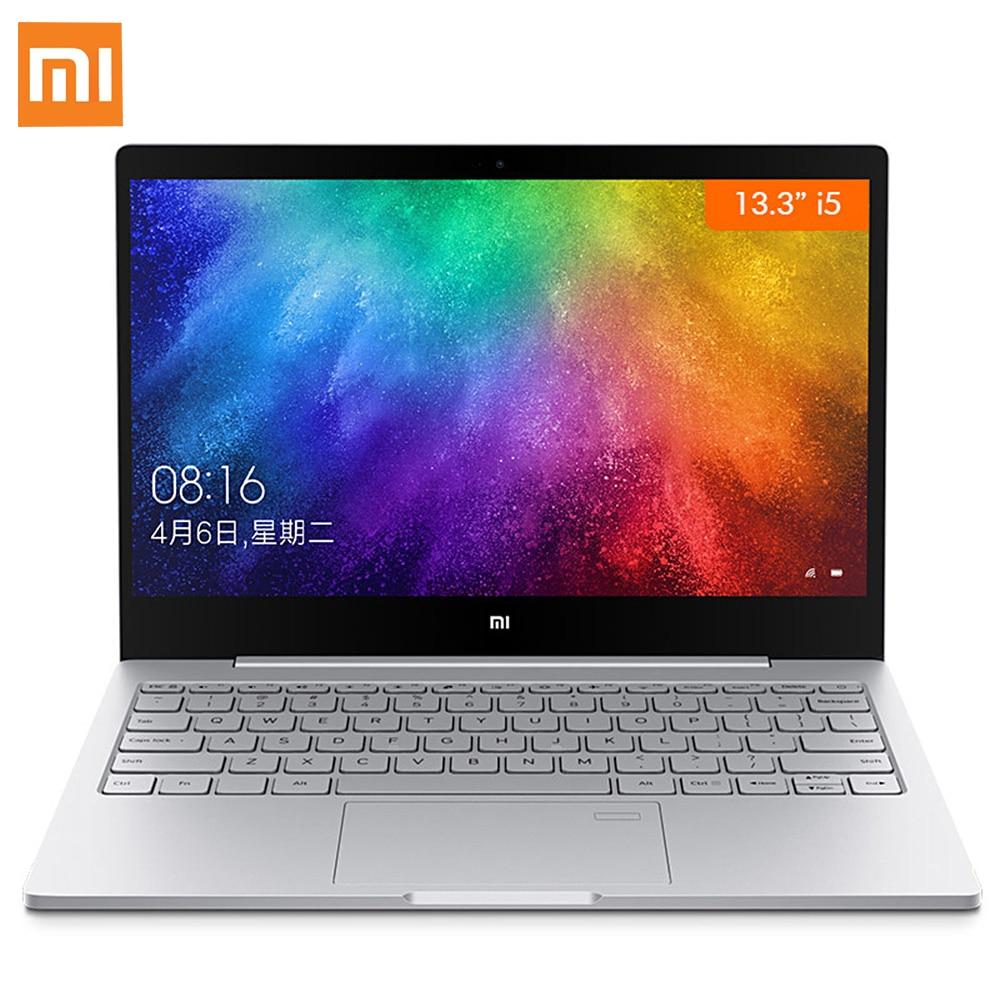 Xiao mi mi portable air 13.3 Windows 10 Intel core I7 I5 quad core 2.5 Ghz 8 gb ram 256 gb SSD D'empreintes Digitales Capteur Double WiFi TypeC