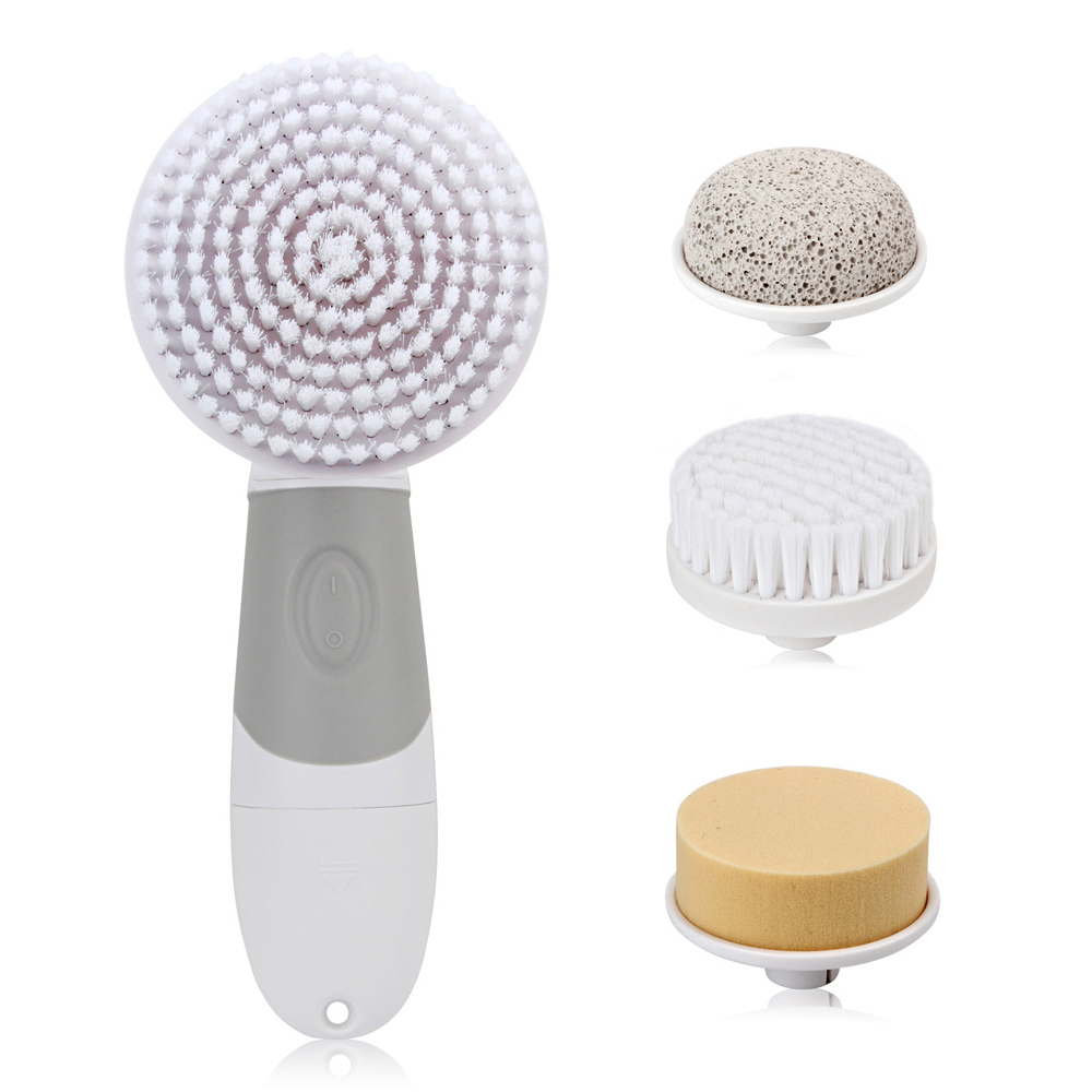 Electric Facial Cleanser 4 In 1 Deep Cleansing Skin Care Blackhead Removal Washing Brush Massager Face