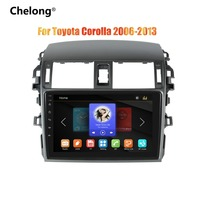 chelong 2din 9 inch Car Radio Mirrorlink Android Bluetooth Car Multimedia MP5 Player For Toyota Corolla 2008 2009 2010 2011 2013