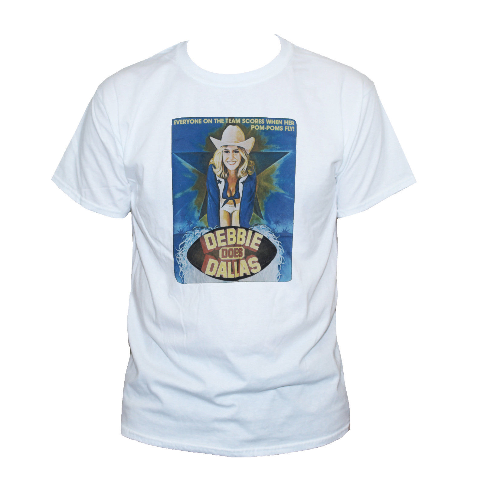 debbie does dallas t shirt porn star bambi woods graphic printed