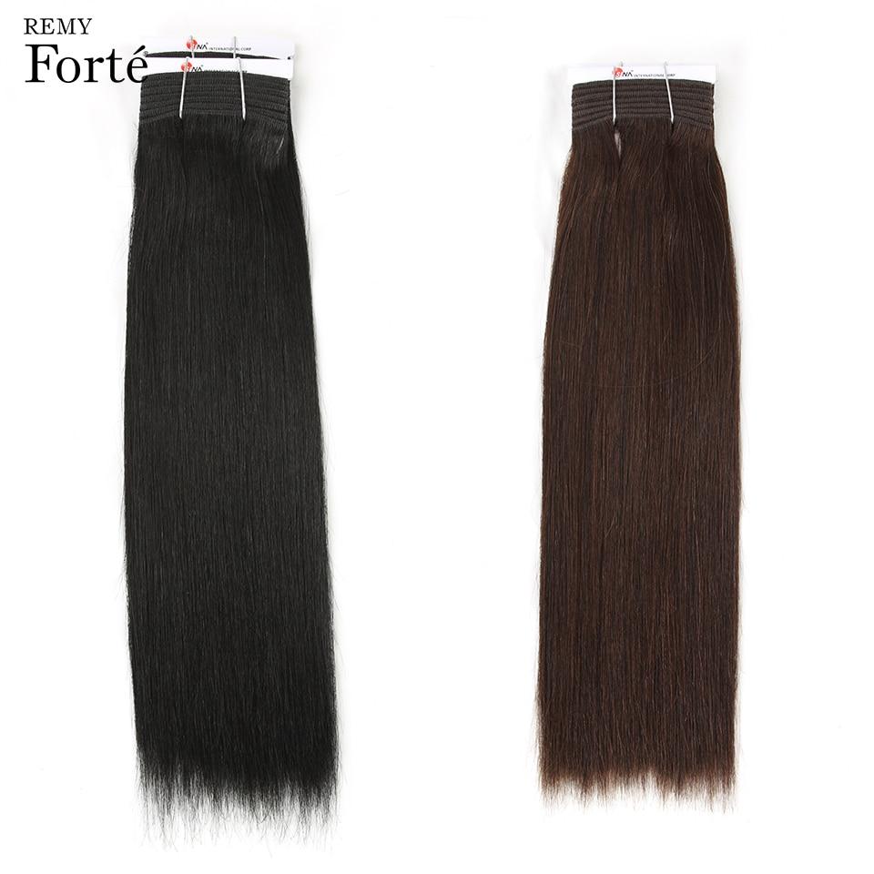 Remy Forte Hair Extension Brazilian Hair Weave Bundles 1 2 Virgin Straight Hair Bundles 2 3
