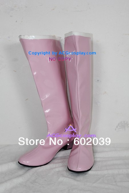 Sailor Moon Sailor Chibi Lune Chibiusa Cosplay Chaussures bottes rose bottes fille bottes ACGcosplay