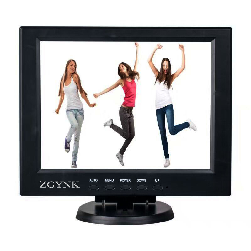 12 inch security LCD LED monitor industrial computer monitors BNC HDMI VGA HD PC Desktop monitors
