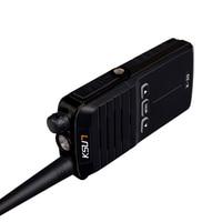 מכשיר הקשר KSUN X-30 כף יד מכשיר הקשר 8W צריכת חשמל גבוהה UHF כף יד שני הדרך Ham Radio Communicator HF משדר חובב Handy (5)