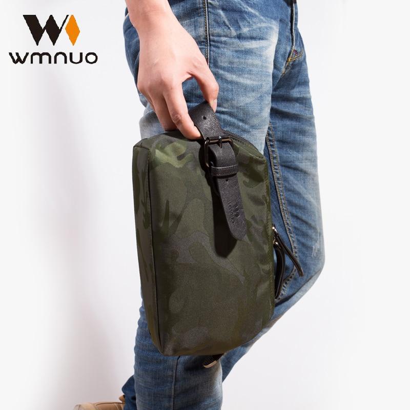 Wmnuo ерлер қол сөмкесі сөмкелері Оксфорд су өткізбейтін 2018 Жаңа сән Корей Edition Ерлер әмиян Casual Ерлер Clutch Bag Жеке тұлға