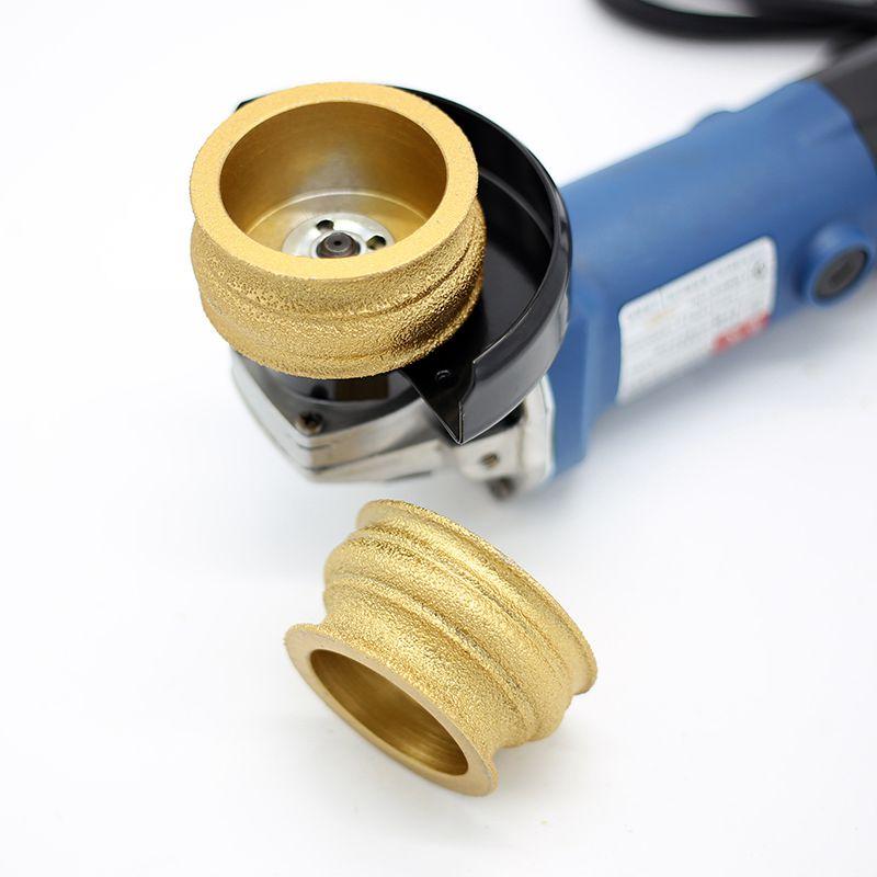 RIJILEI 75mm Deimantinio profilio ratas Litavimo deimantai Marmuras - Elektriniai įrankiai - Nuotrauka 4