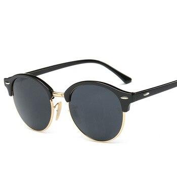 DCM Hot Sunglasses Women Popular Brand Designer Retro Men Summer Style Sun Glasses 14