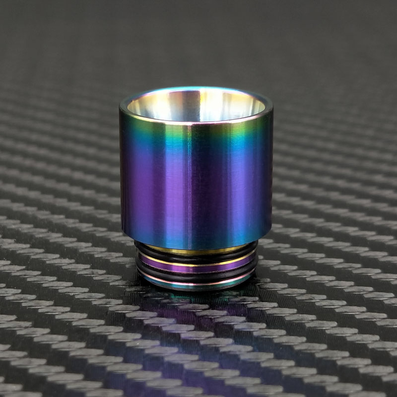 Rainbow Stainless Steel Vape Mouthpiece 810 Drip Tip for e-cigarette Atomizer for SMOK TFV12 Prince / TFV8 Big Baby Tank