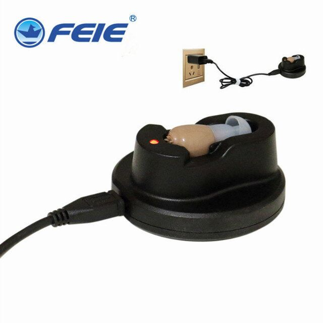 ITE Hearing Aid Rechargeable Portable Mini Hearing Aid Listening Device For deafness Loss mild to severe S-102  Free Shipping hearing aid aerophone mini portable small hearing aids digital hearing amplifier mild to severe elderly hearing loss s 15a cic