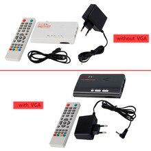 HDMI HD 1080 P С VGA/Без VGA Версия DVB-T2 TV Box А. В. CVBS Тюнер Приемник Дистанционного Управления Совместим С ЭЛТ-и ЖК-