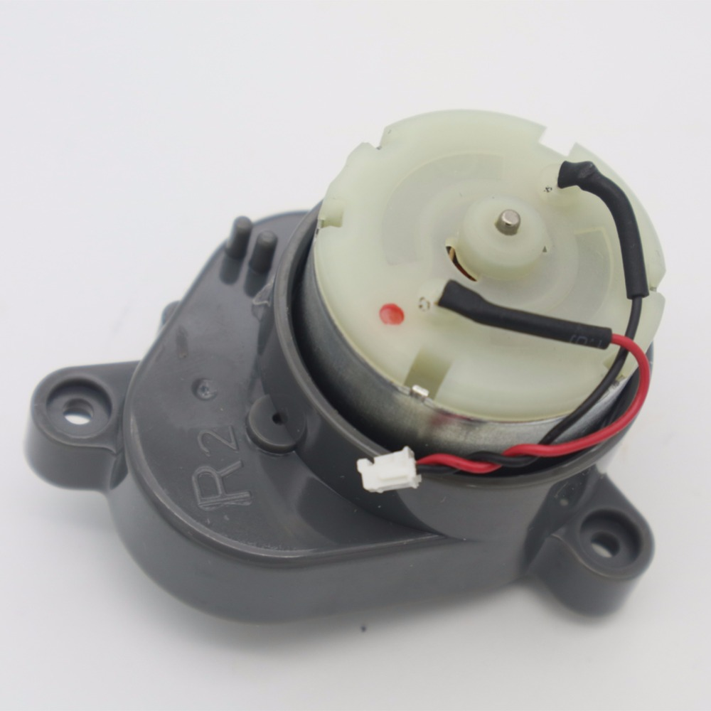 Original Right Side brush motor for chuwi ilife A4 x620 A6 T4 X430 X432 Robot Vacuum Cleaner robot Parts ilife A4 side brush motors assembly for panda x500 vacuum cleaning robot including left motor assembly x1pc right motor assembly x1pc